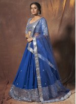 Blue Color Lehenga Choli