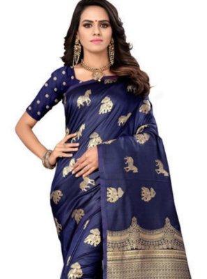 Blue Party Designer Traditional Saree