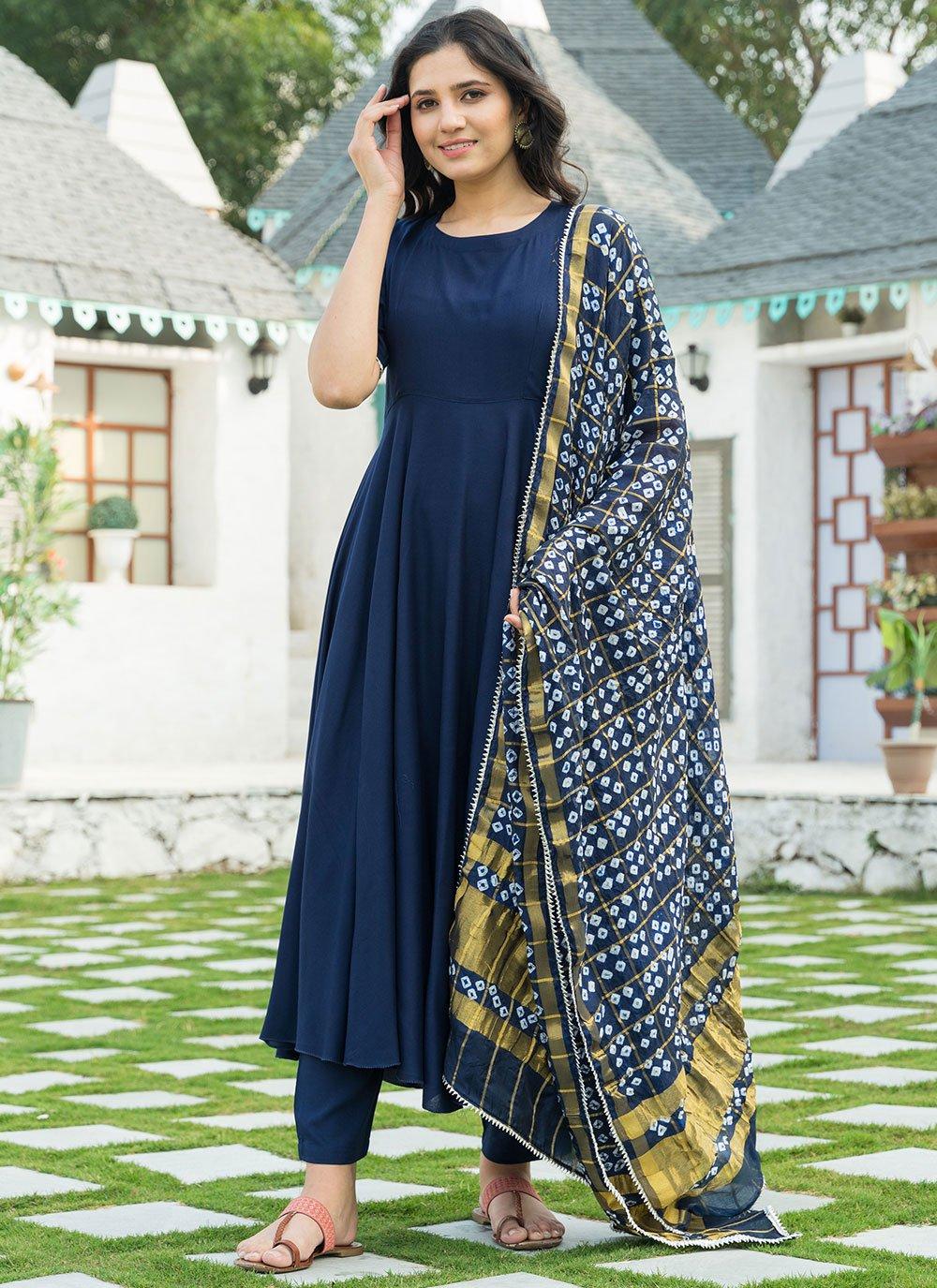 Blue Print Designer Suit