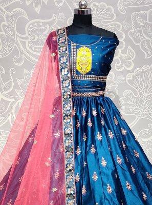 Blue Thread Lehenga Choli