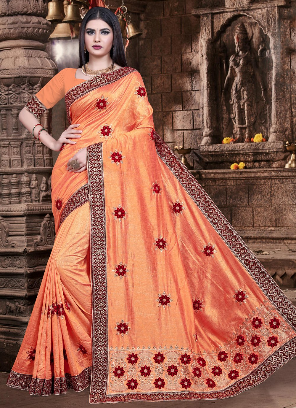 Bollywood Saree For Ceremonial