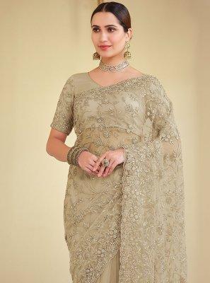 Brown Color Bollywood Saree