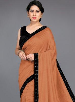 Brown Silk Traditional Saree