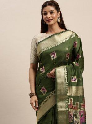 Chanderi Cotton Designer Traditional Saree
