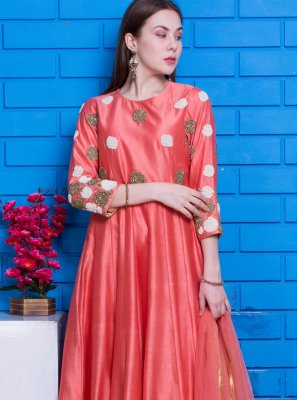Chanderi Designer Suit
