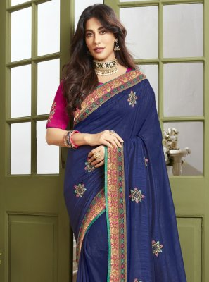 Chitrangada Singh Designer Traditional Saree For Engagement