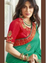 Chitrangada Singh Fancy Fabric Traditional Designer Saree