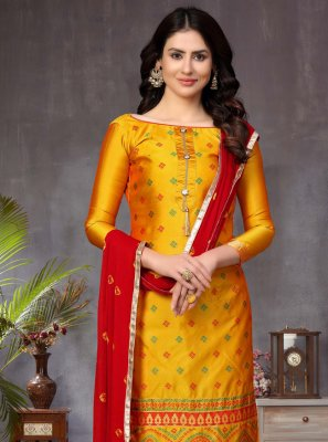 Churidar Designer Suit For Ceremonial
