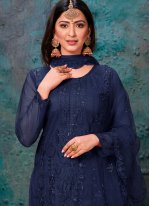 Churidar Designer Suit For Sangeet