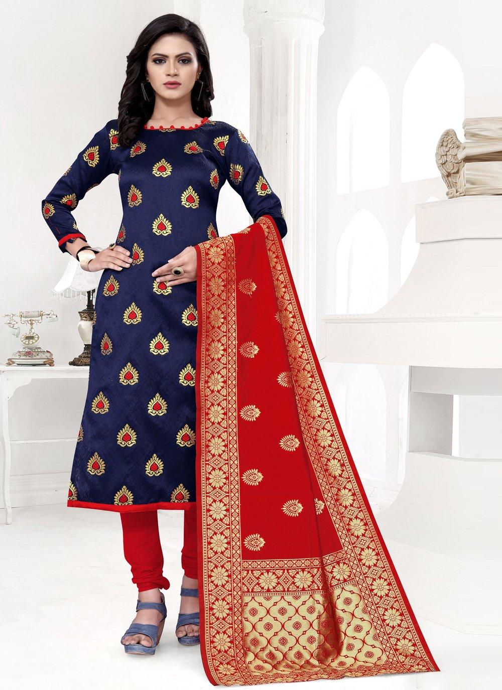 Churidar Suit For Festival