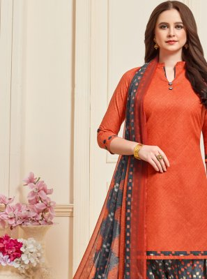 Cotton Casual Designer Patiala Suit