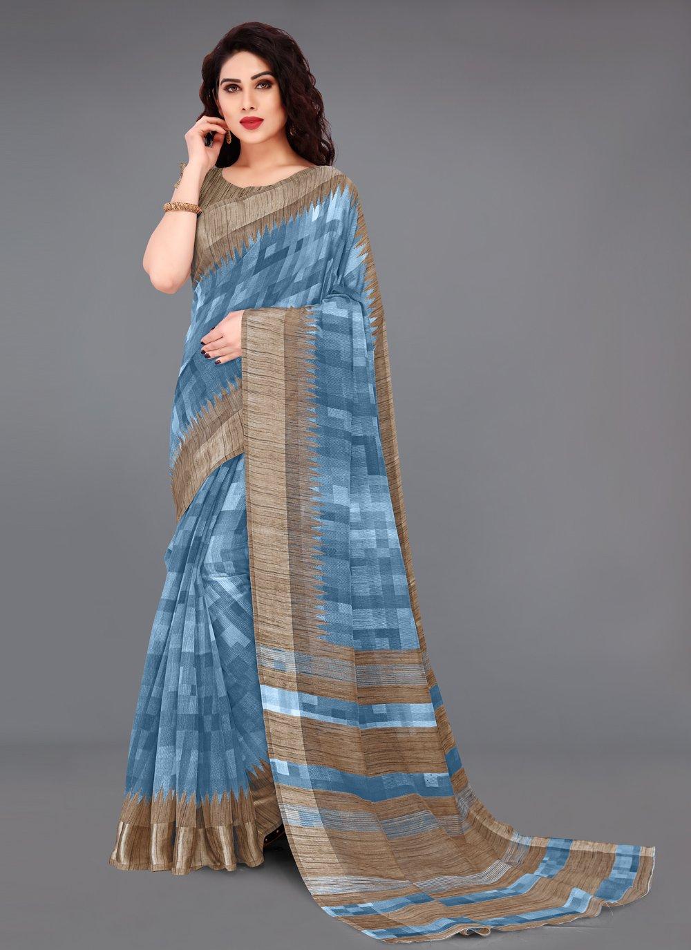 Cotton Casual Printed Saree