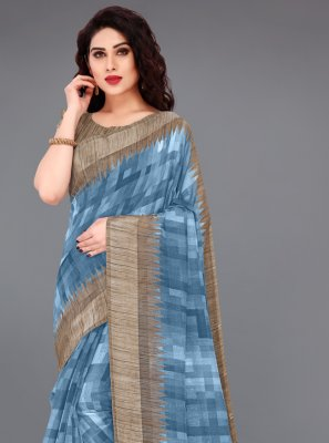 Cotton Casual Printed Saree