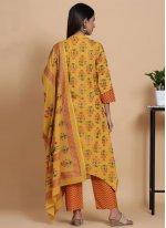 Cotton Ceremonial Readymade Salwar Suit