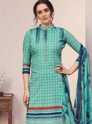 Cotton Designer Palazzo Salwar Kameez