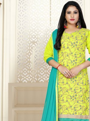 Cotton Embroidered Trendy Salwar Kameez
