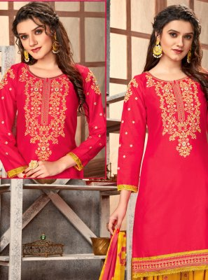 Cotton Festival Designer Patiala Suit