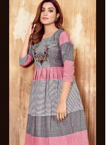 Cotton Festival Party Wear Kurti