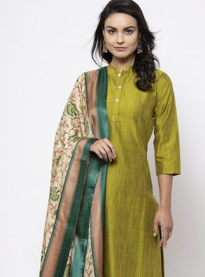 Cotton Green Bollywood Salwar Kameez