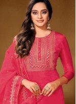 Cotton Lawn Hot Pink Designer Pakistani Salwar Suit