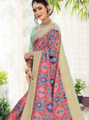 Cotton Multi Colour Contemporary Saree