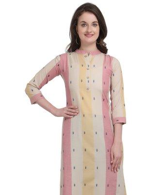 Cotton Multi Colour Printed Designer Kurti