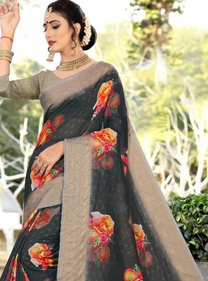 Cotton Party Trendy Saree
