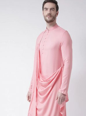 Cotton Pink Kurta Pyjama