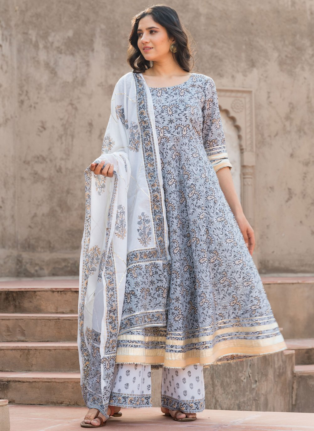 Cotton Printed Bollywood Salwar Kameez