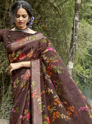 Cotton Printed Printed Saree
