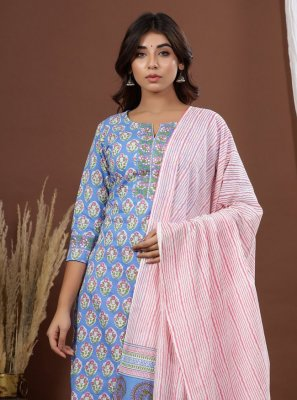 Cotton Printed Readymade Suit