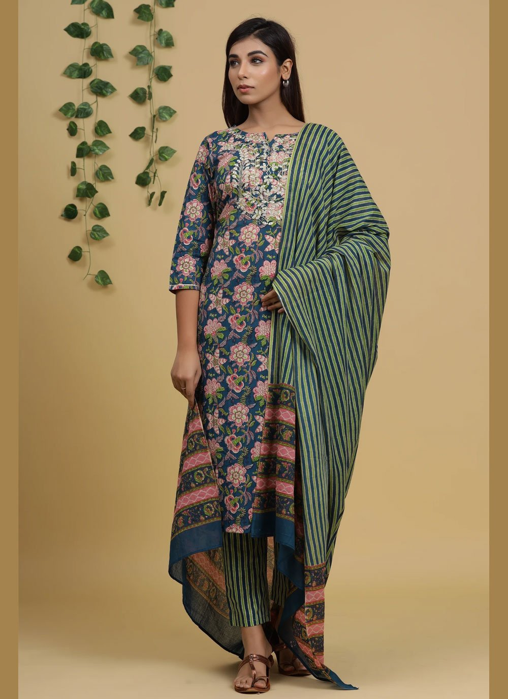 Cotton Readymade Suit