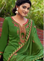 Cotton Silk Festival Salwar Kameez