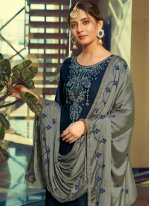 Cotton Silk Print Patiala Suit