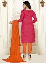 Cotton Straight Salwar Kameez