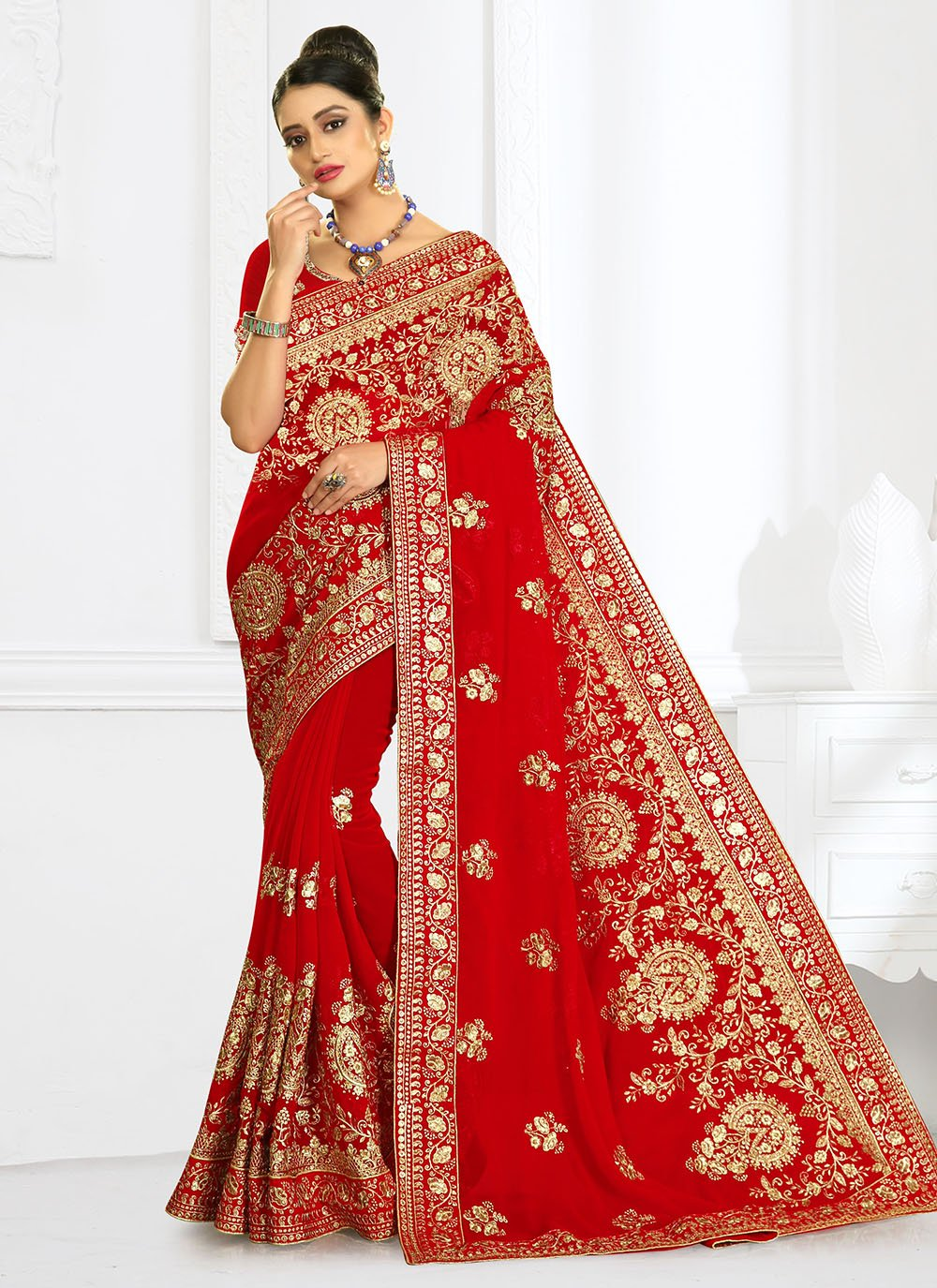 Designer Bridal Sarees For Bridal