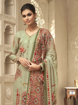 Designer Palazzo Suit For Ceremonial