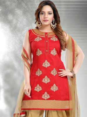 Designer Patiala Suit For Ceremonial