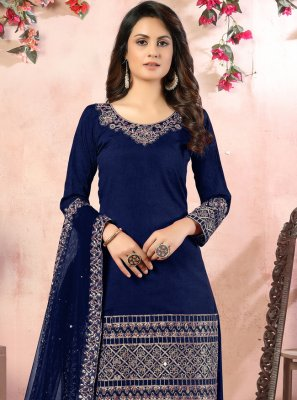 Designer Patiala Suit For Festival