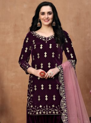 Designer Patila Salwar Suit For Festival