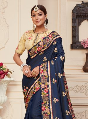 Designer Traditional Saree For Sangeet