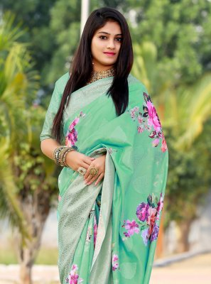 Digital Print Ceremonial Printed Saree