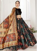 Digital Print Festival Readymade Lehenga Choli