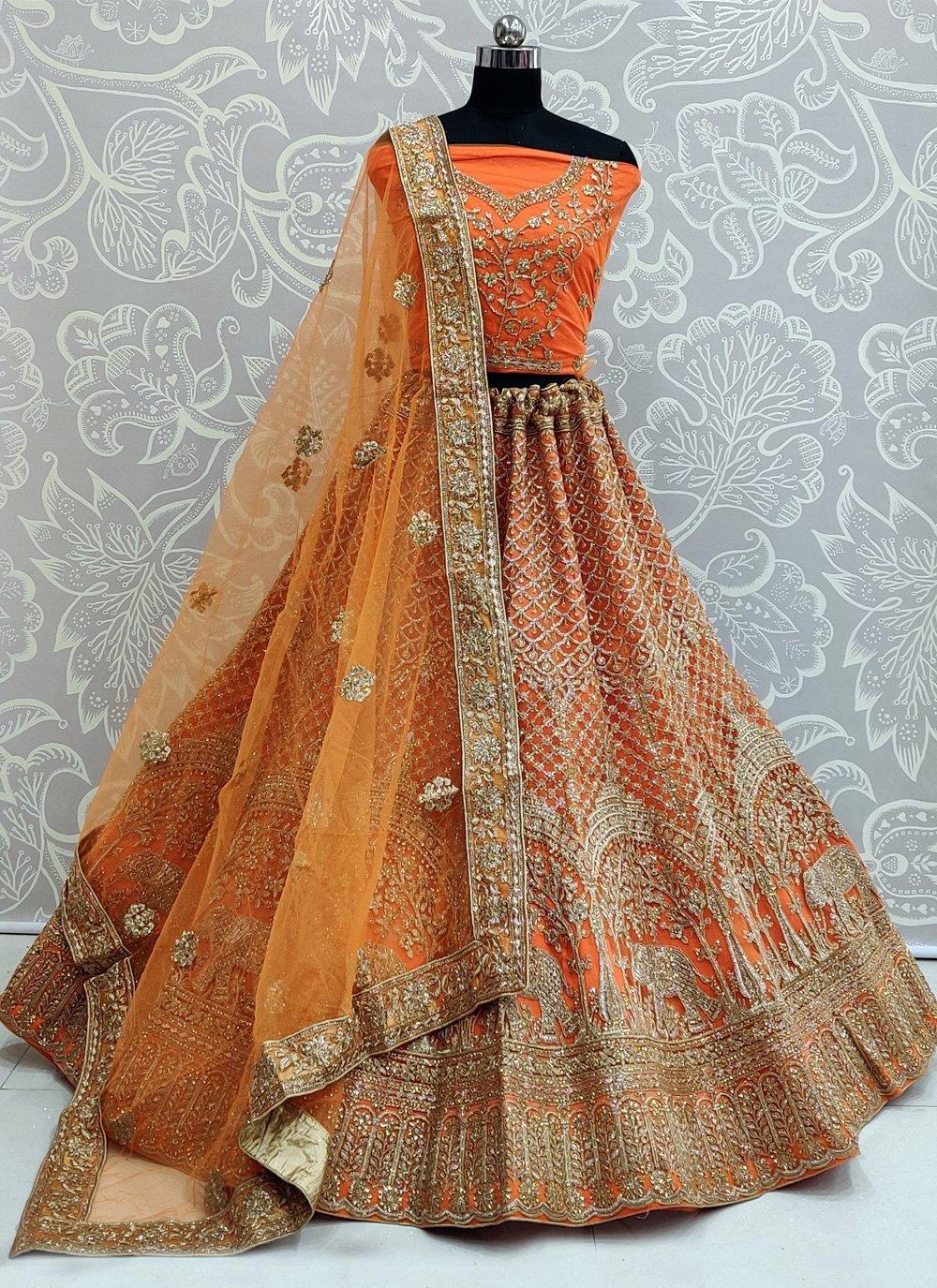Dimond Net Trendy Lehenga Choli