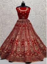 Embroidered A Line Lehenga Choli