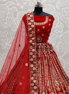 Embroidered A Line Lehenga Choli