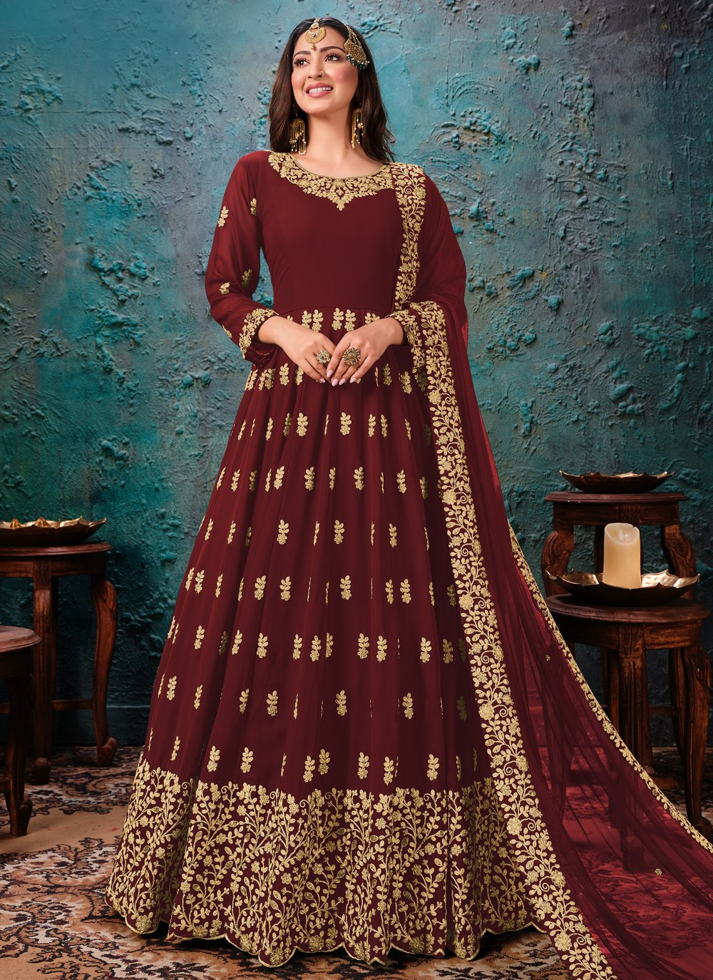Embroidered Bollywood Salwar Kameez