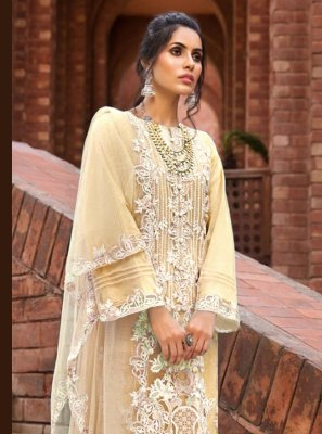 Embroidered Ceremonial Designer Pakistani Salwar Suit