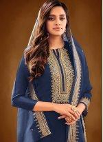Embroidered Ceremonial Designer Pakistani Suit