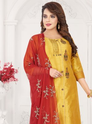 Embroidered Ceremonial Designer Salwar Suit